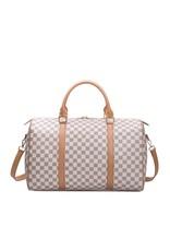Checkerboard Weekender Bag