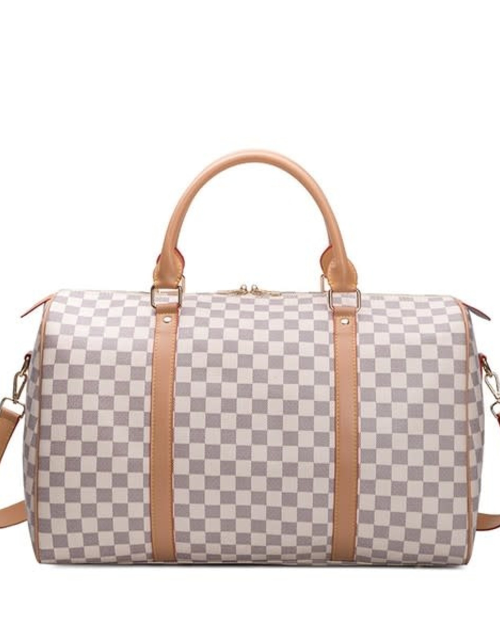 Checkerboard Weekender Bag