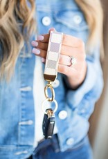 Checkerboard Key Chain