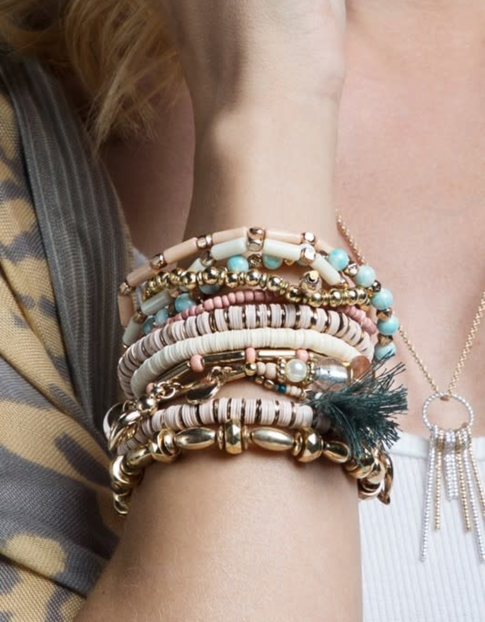 Mixed Media Bracelet Set