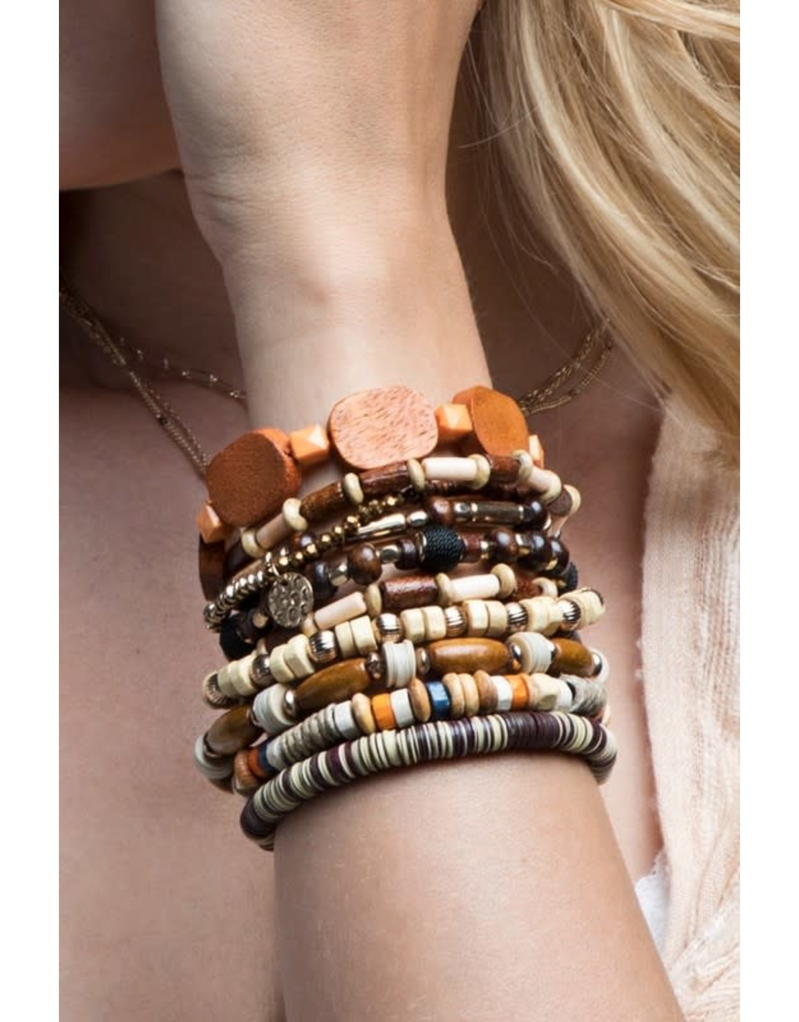 Mixed Bead Bracelet Set