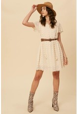 Swiss Dot Textured Dress