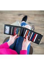 Slim Credit Card Zipper Wallet