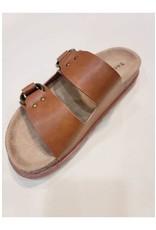 Casual Slide Sandals Tan