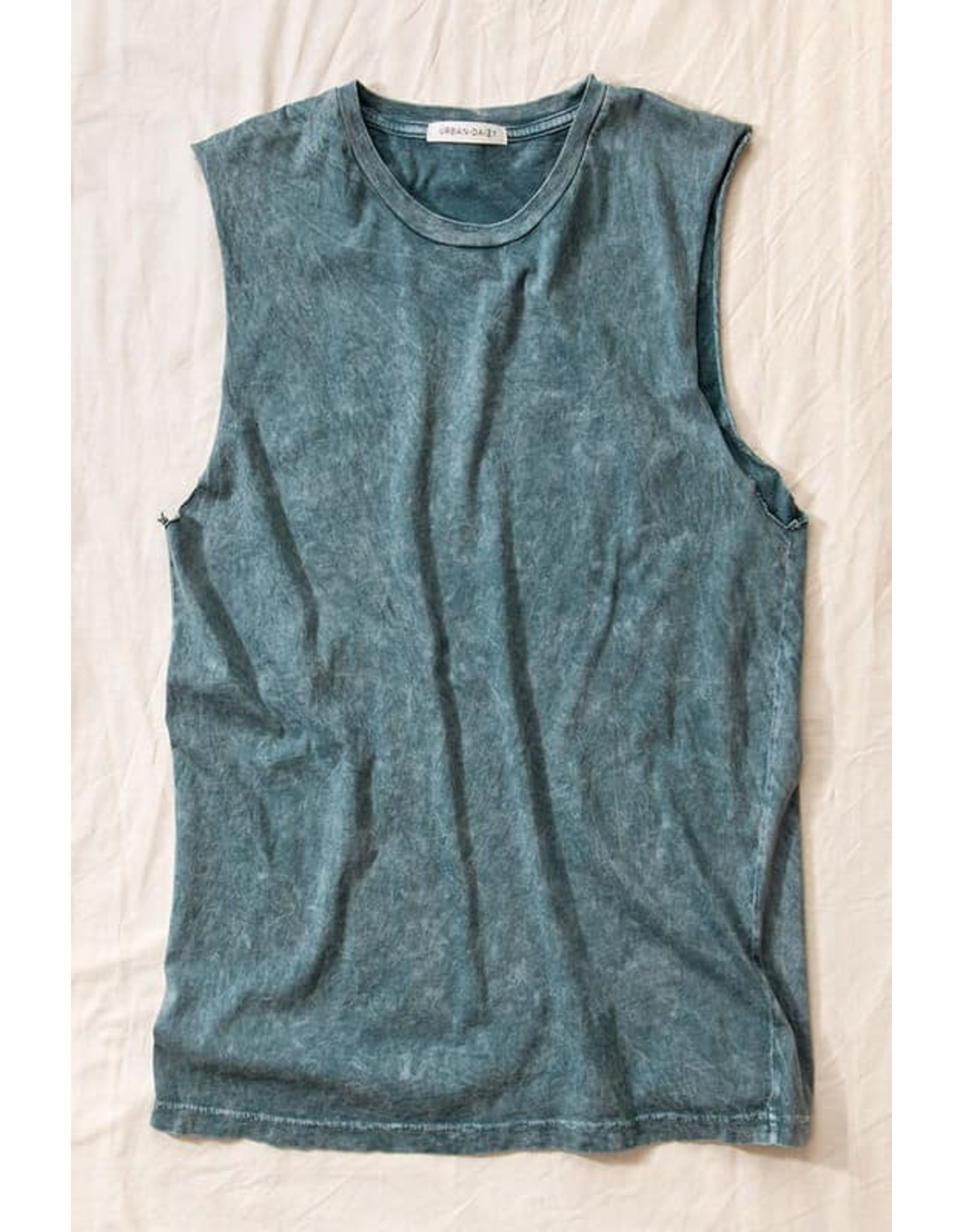 Vintage Mineral Washed Sleeveless Top