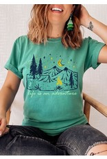 Life is an Adventure Tent Tee