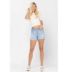 Judy Blue Button-Fly Shorts