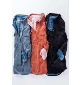 Corduroy Reversible Jacket