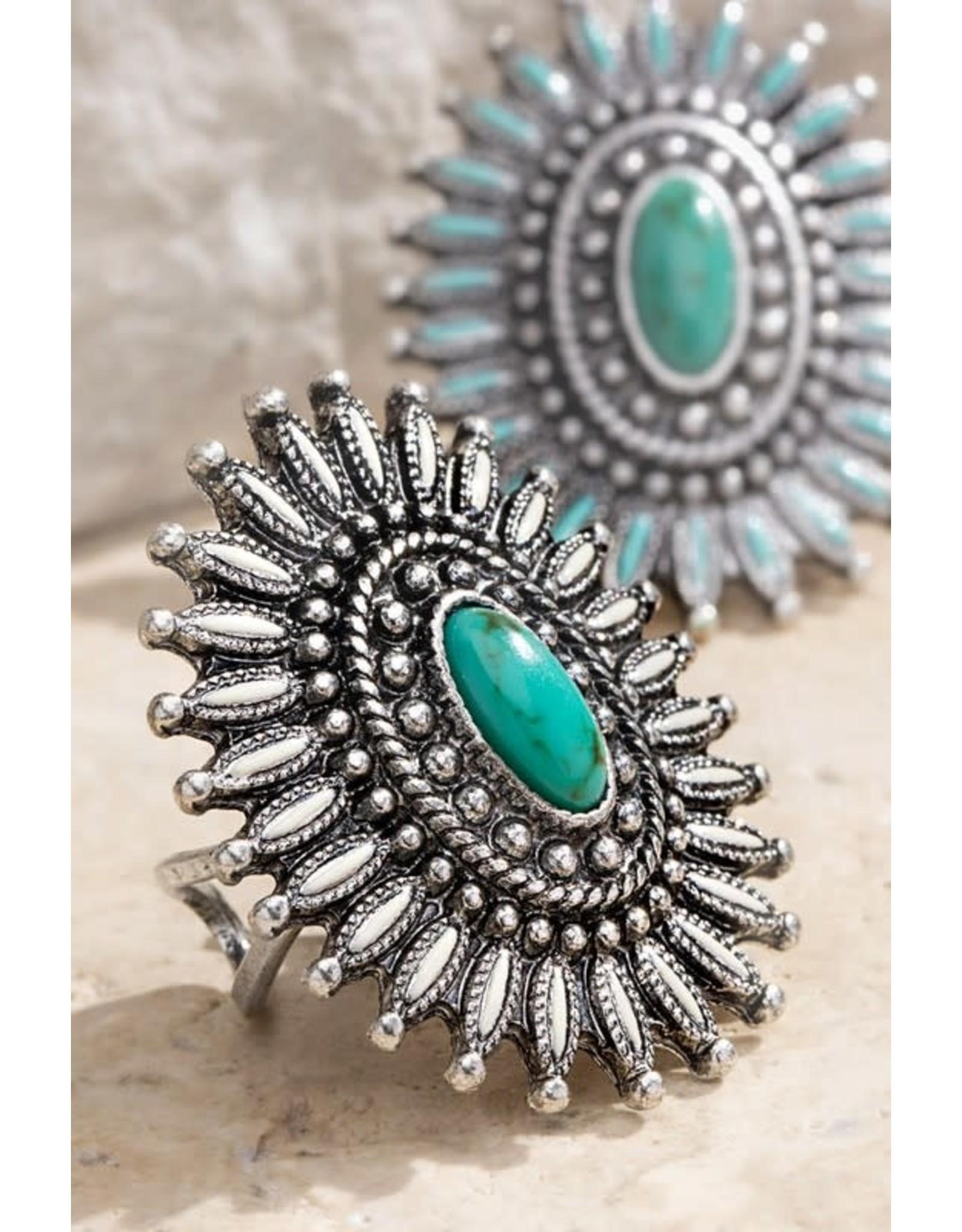 Boho Western Cuff Ring