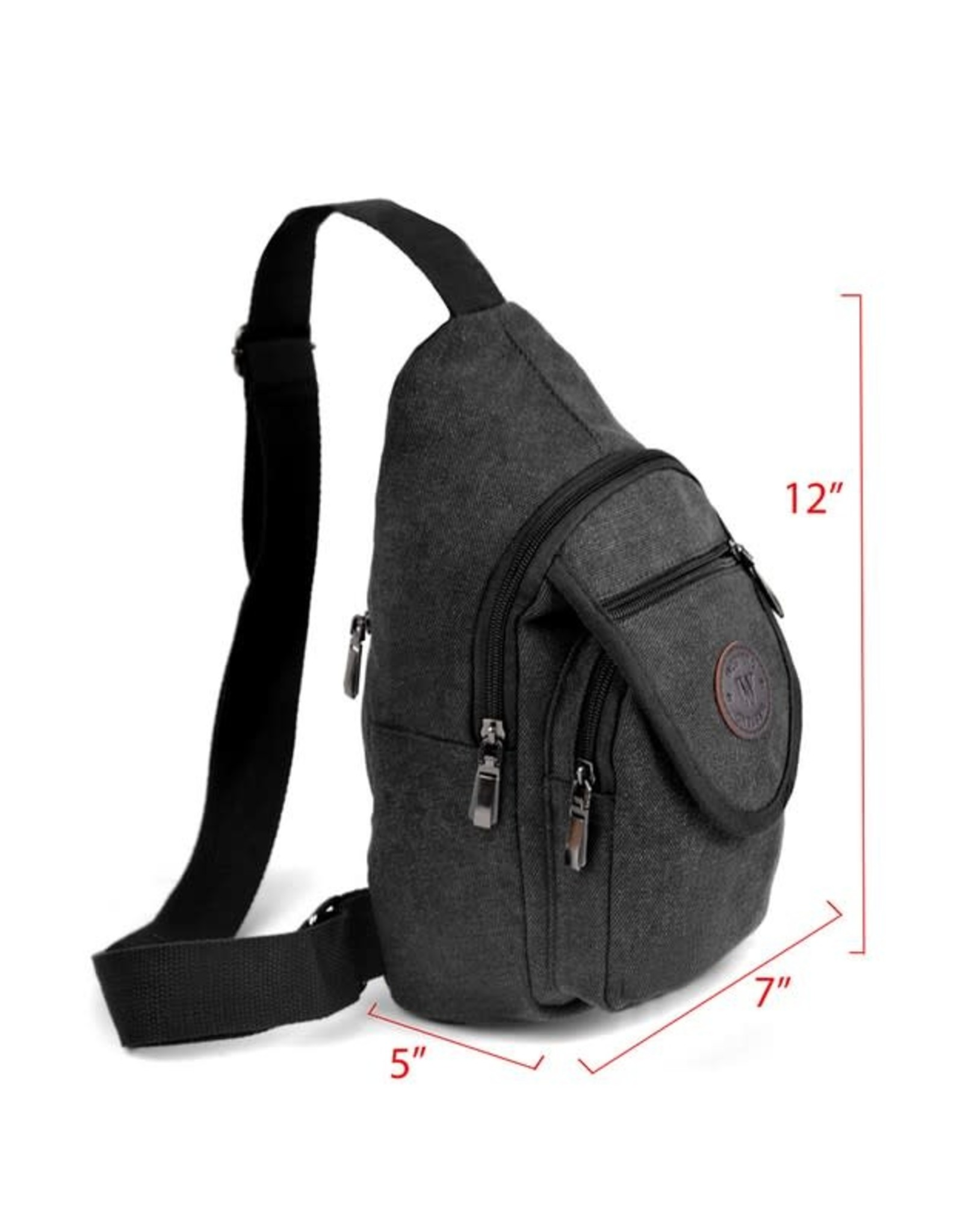 Cross bodyCanvas Sling Bag Backpack