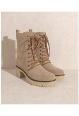 Jamie Chunky Heel Boots
