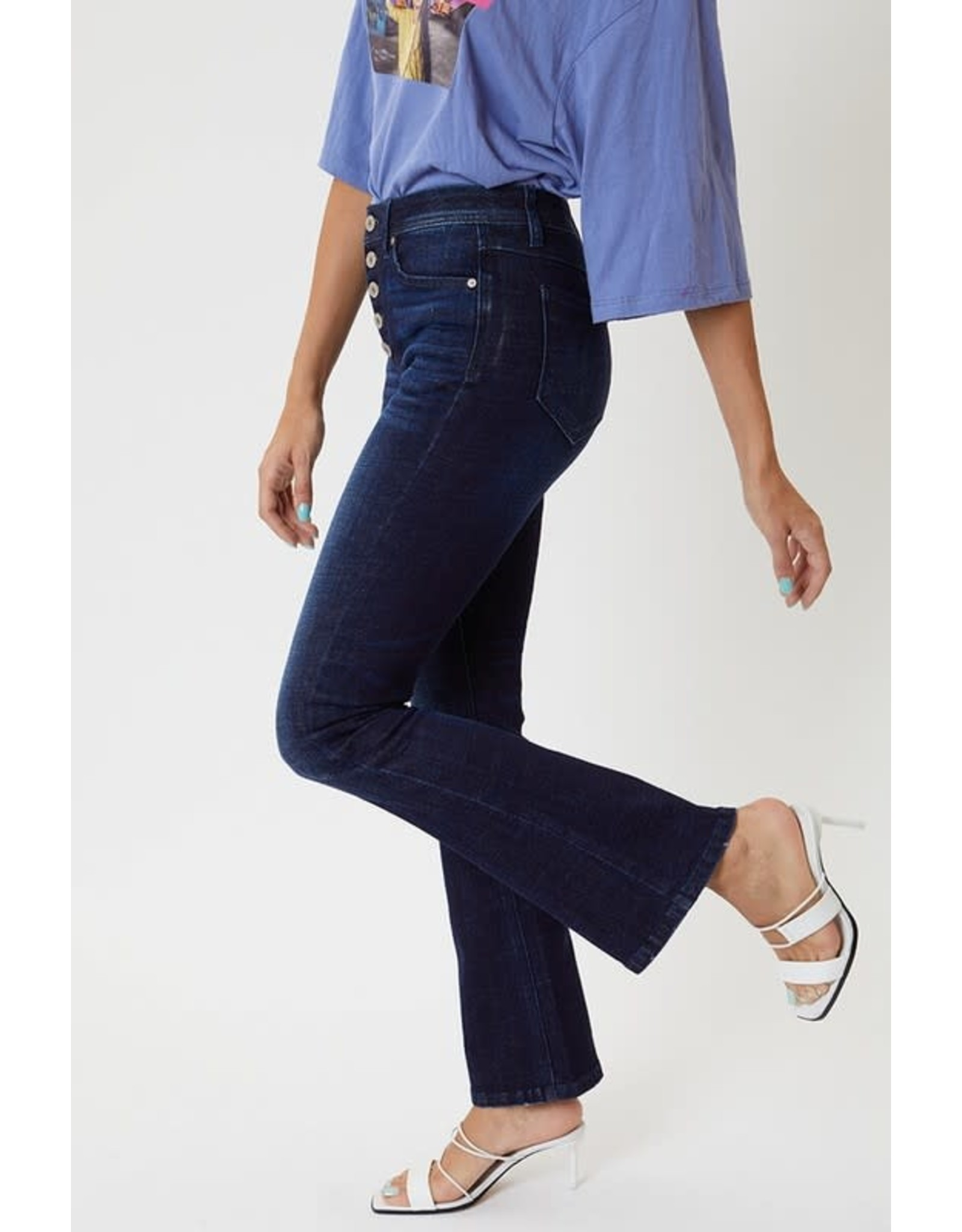 Blaire High Rise Flare Jeans - Petite