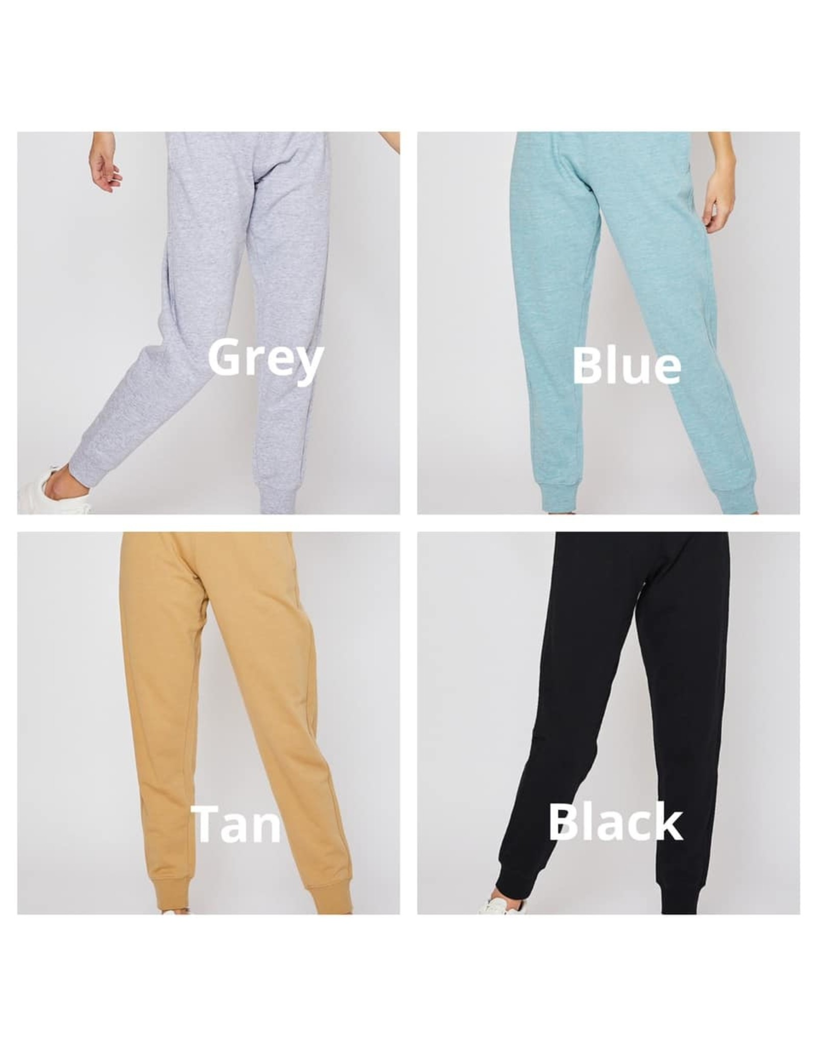Cotton Terry Joggers
