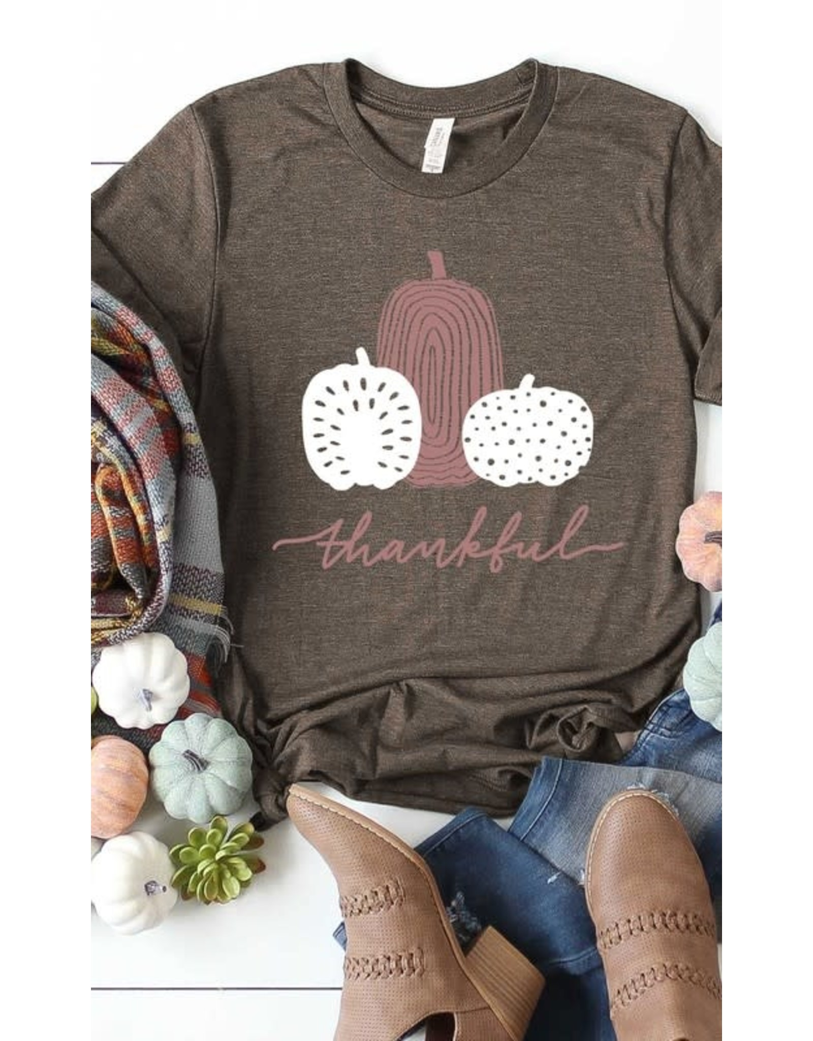 Grateful Pumpkins Graphic Tee