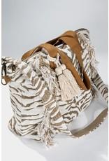 Handmade Tiger Motif Bag