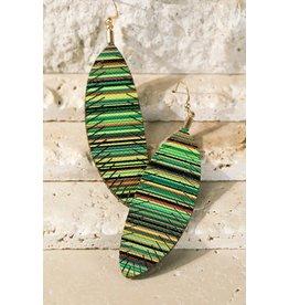 Colorful Leaf Earrings