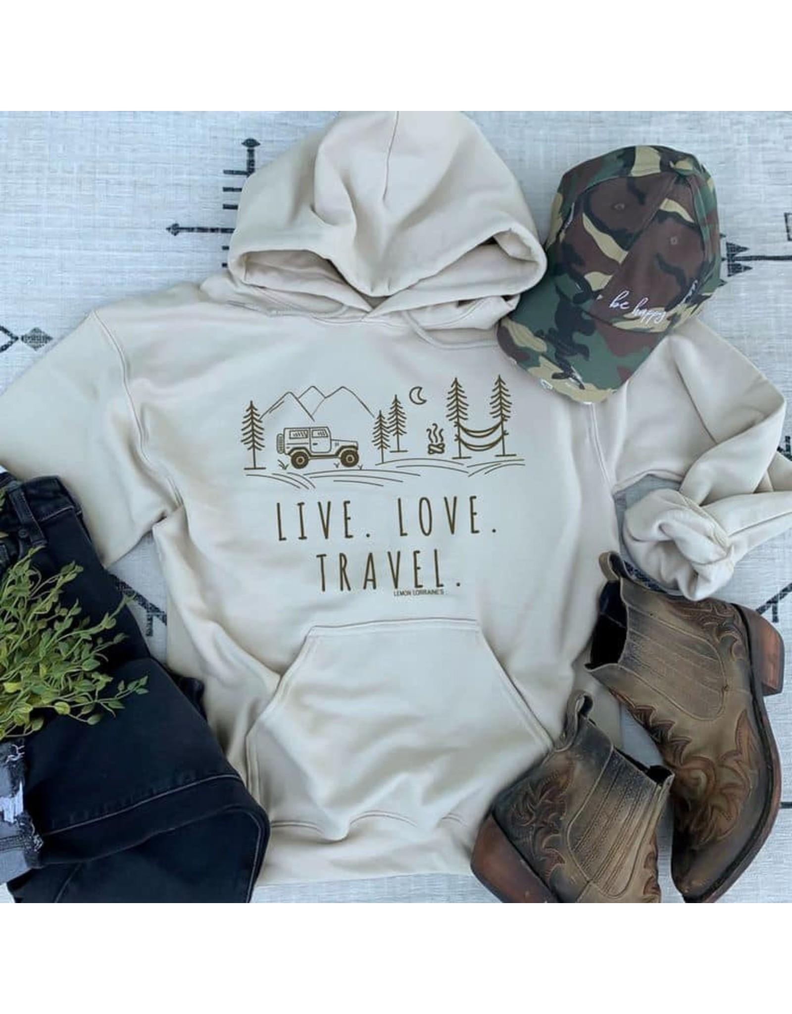 LIVE. LOVE. TRAVEL. Hoodie