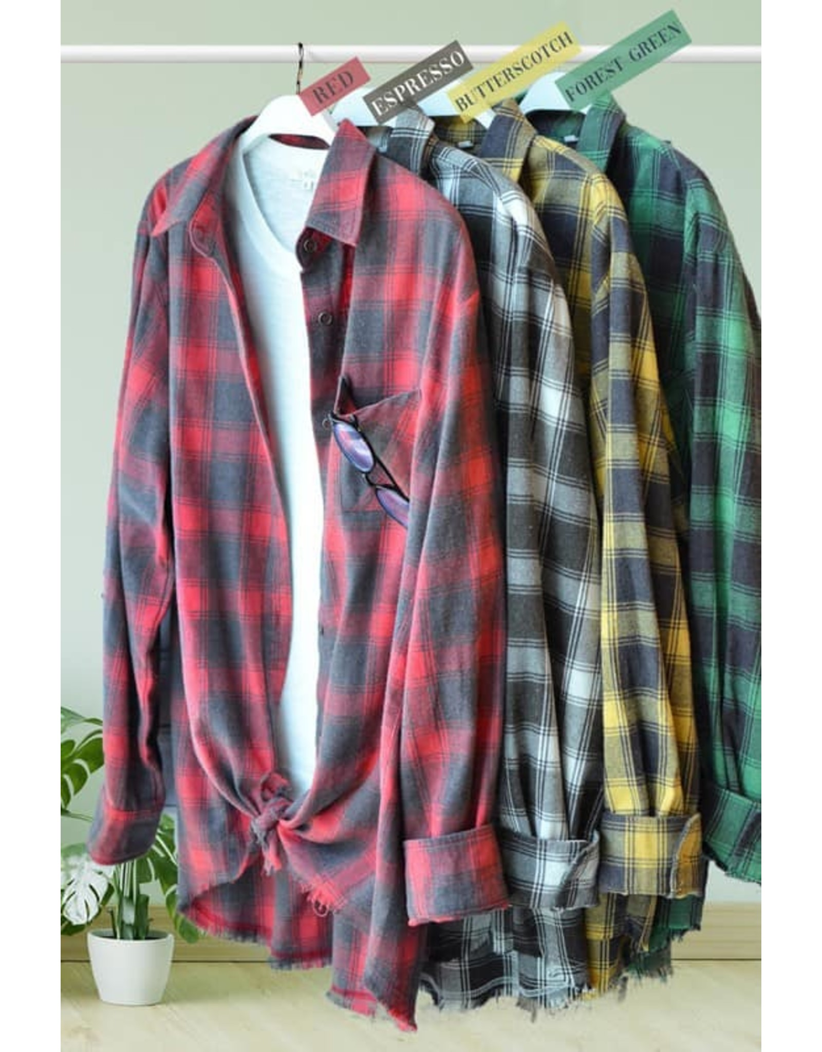Kianna Washed Shirt