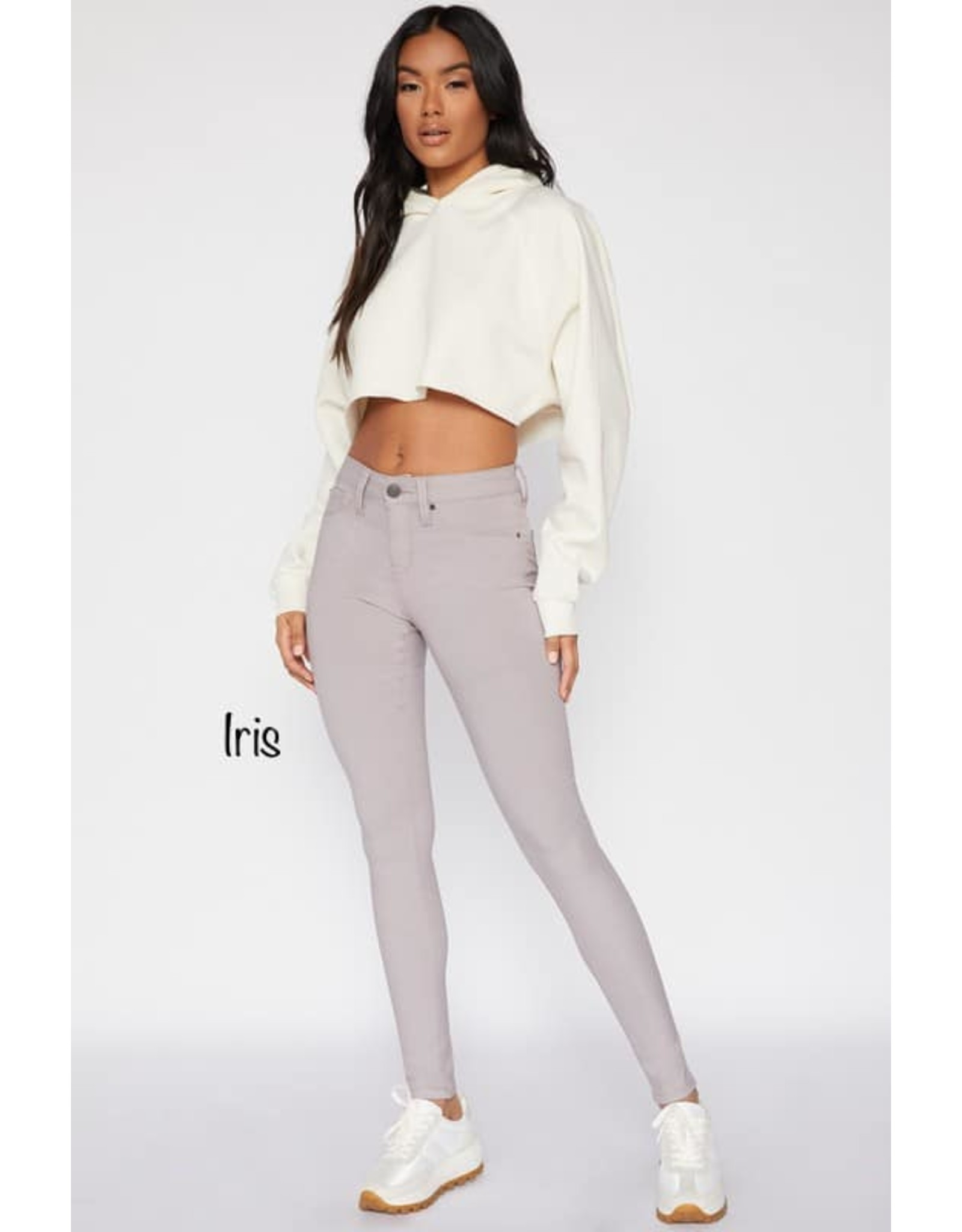 Hyperstretch Mid-Rise Skinny Jean