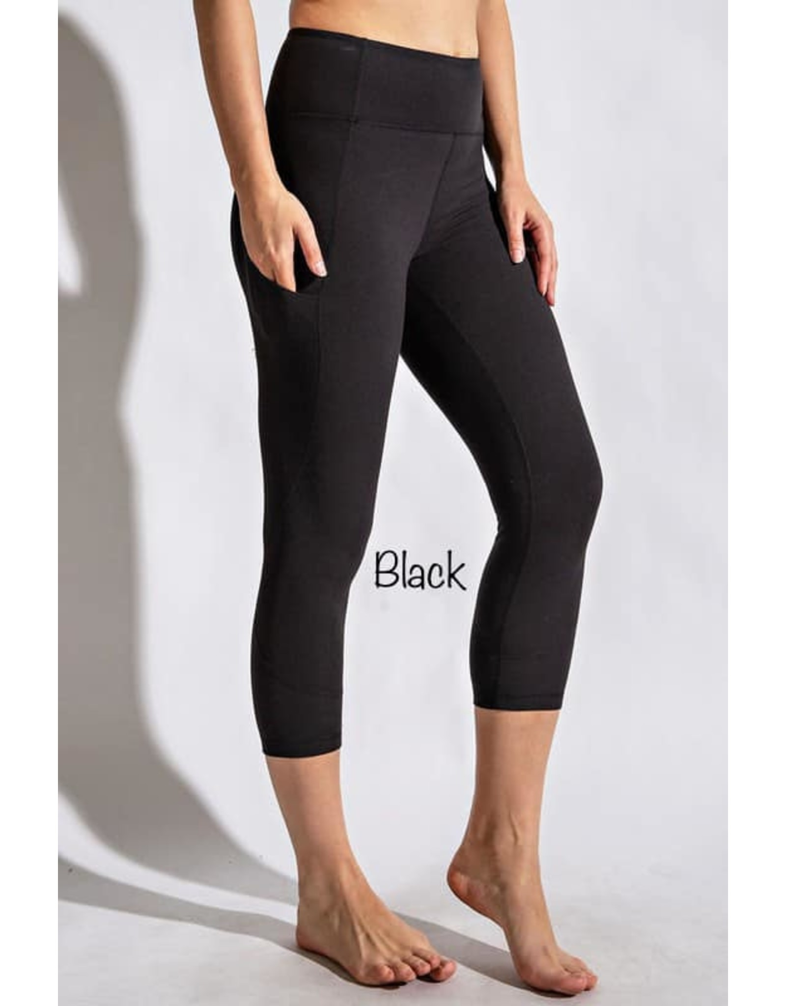 Capri Buttery Soft Leggings With Pockets