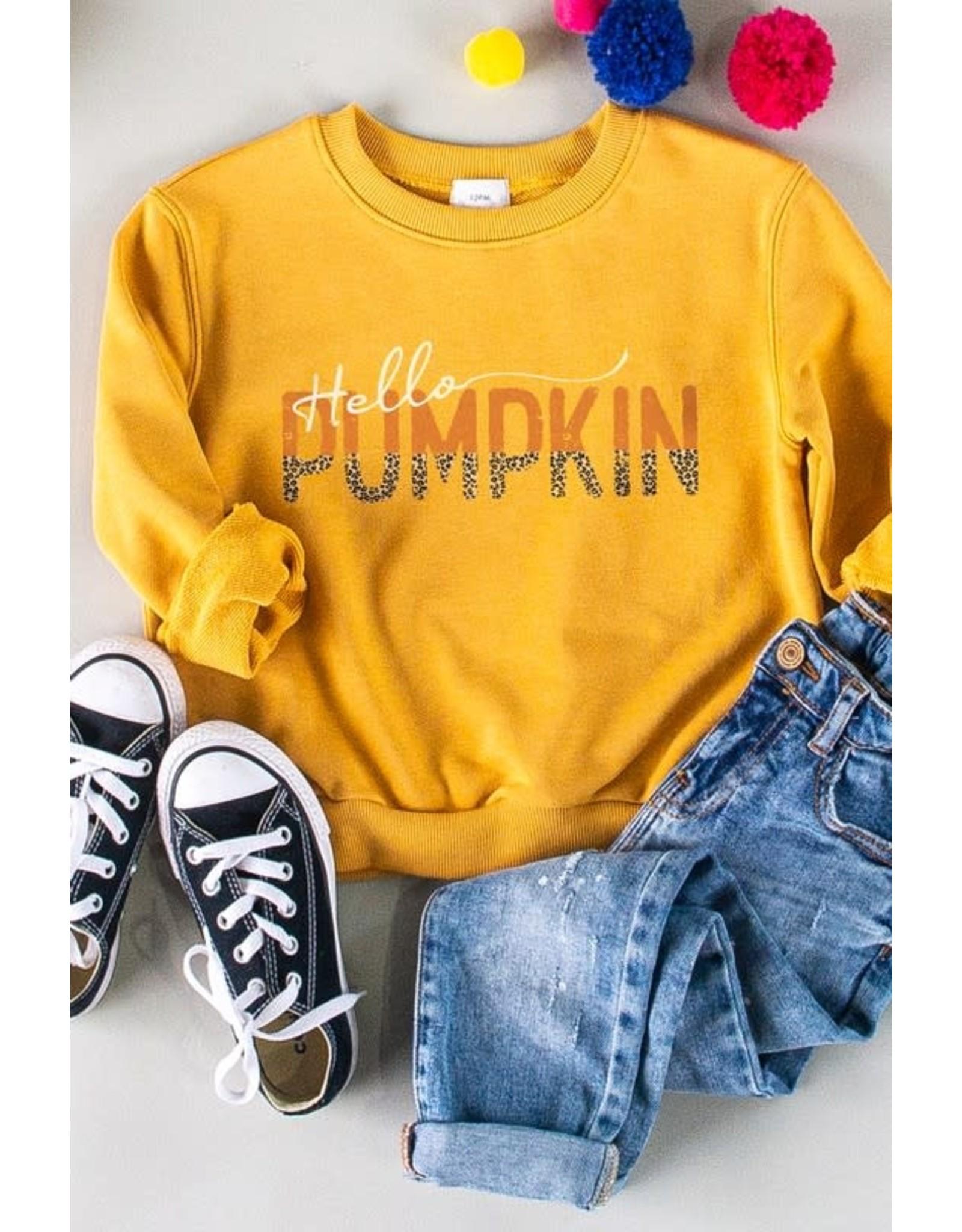 Hello Pumpkin Kids Sweater