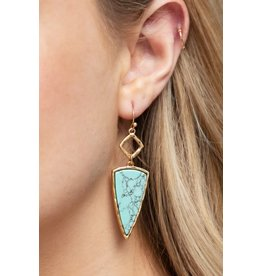 Arrow Dangle Drop Earrings