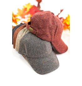 Tweed Ball Cap
