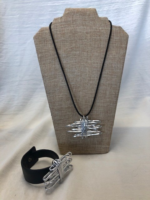 OC 412NKL OC GRIS  NECKLACE SILVER