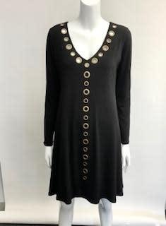 EVA VARRO 12554D EVA VARRO GROMMET DRESS