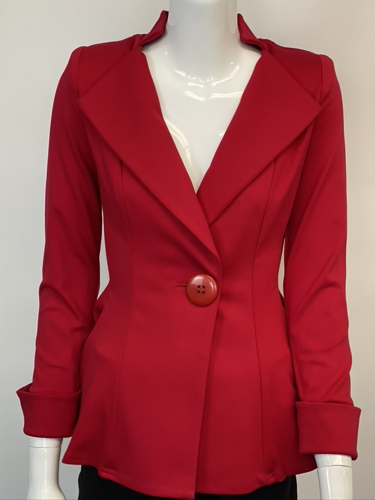 Design Today 1885J DESIGN TODAY FITTED SHORT JACKET W/CUFF SLEEVE