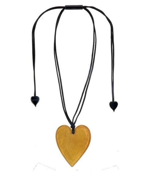 zsiska G00P-5060203 ZSISKA HEART PENDANT GOLD