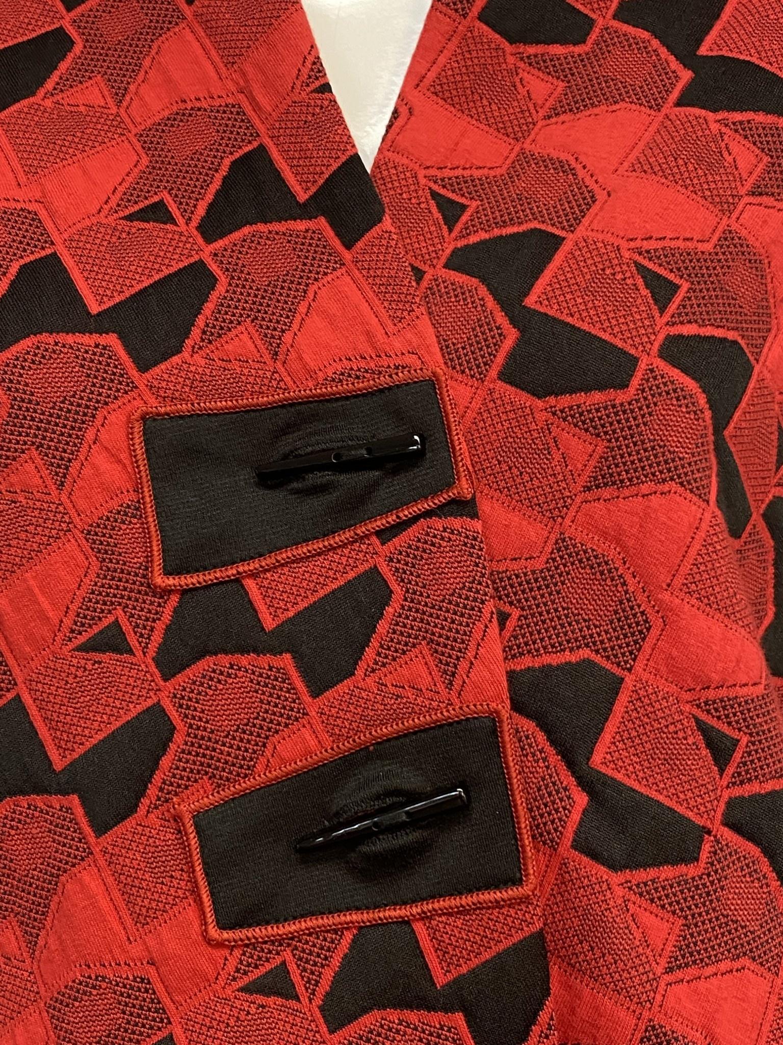MOONLIGHT 2953 MOONLIGHT JKET RED/BLK MED