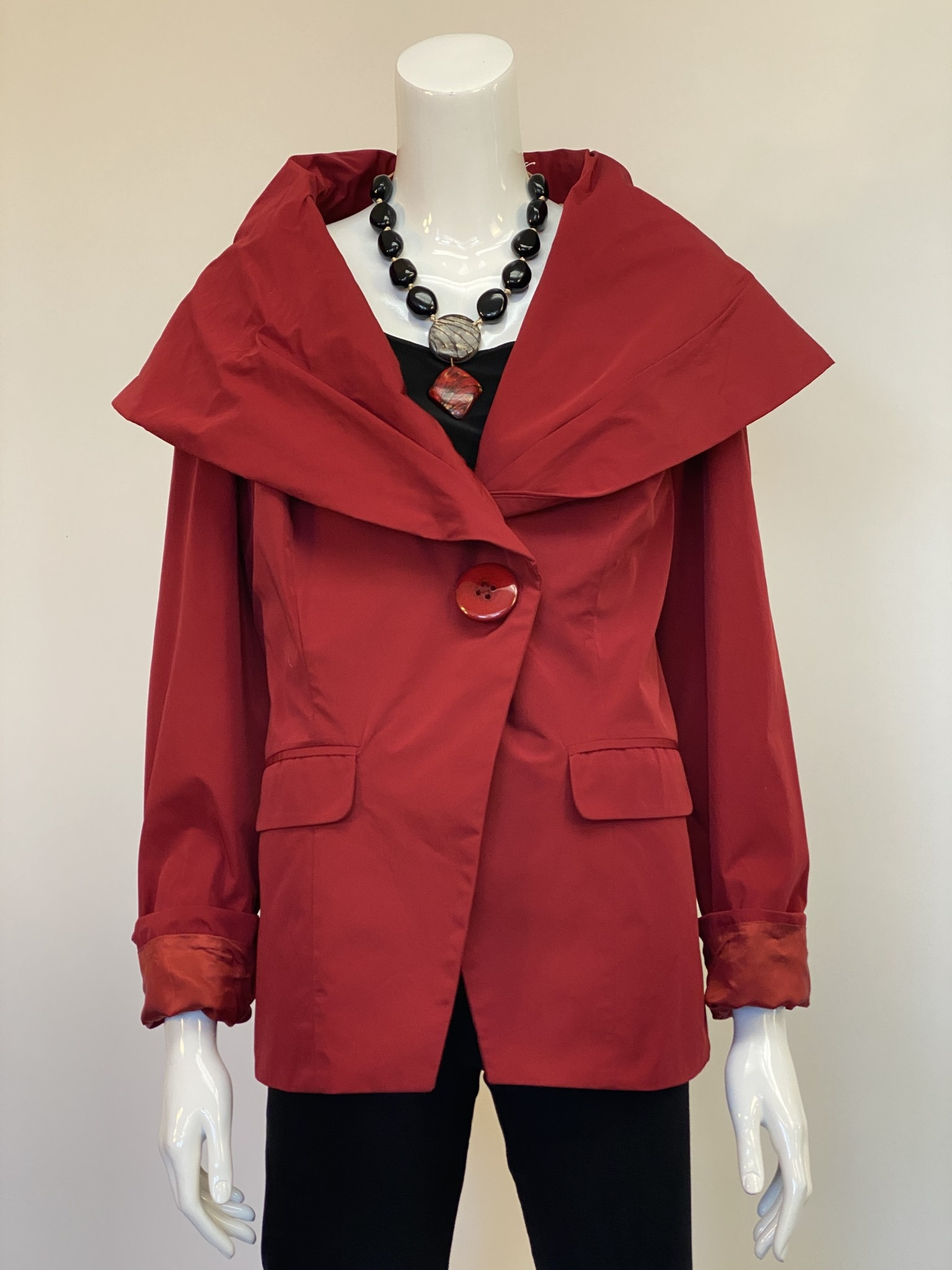Design Today 3255 DESIGN TODAY POPLIN JKET RED XLG