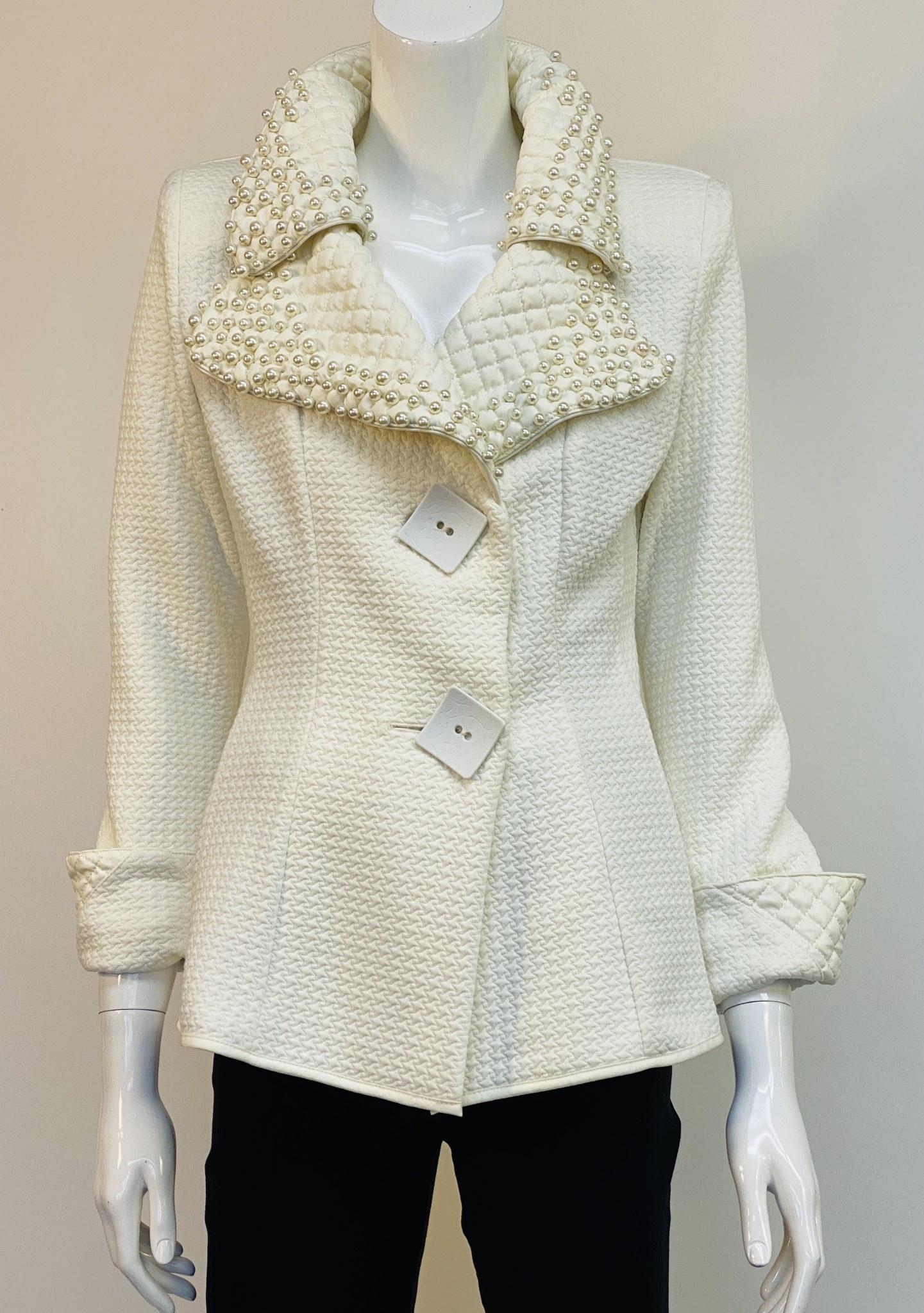 Design Today 1523 Pearl Collar Jckt
