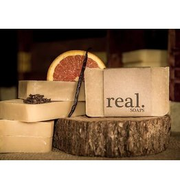 Real Soaps Vanilla Orange Clove Soap
