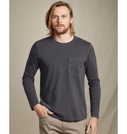 Toad & Co Men's Primo LS Crew - Soot