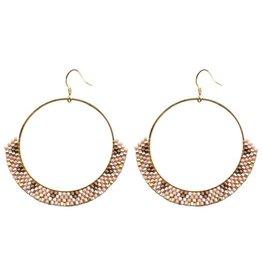 gemelli Native Hoop Earring