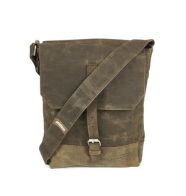 Causegear Messenger Bag Taupe Waxed