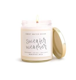 Sweet Water Decor Sweater Weather Soy Candle