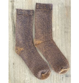 Zkano Canyon Marled Cushion Boot Sock, Bronze - M