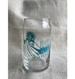 Can Glass - Light Blue Owl