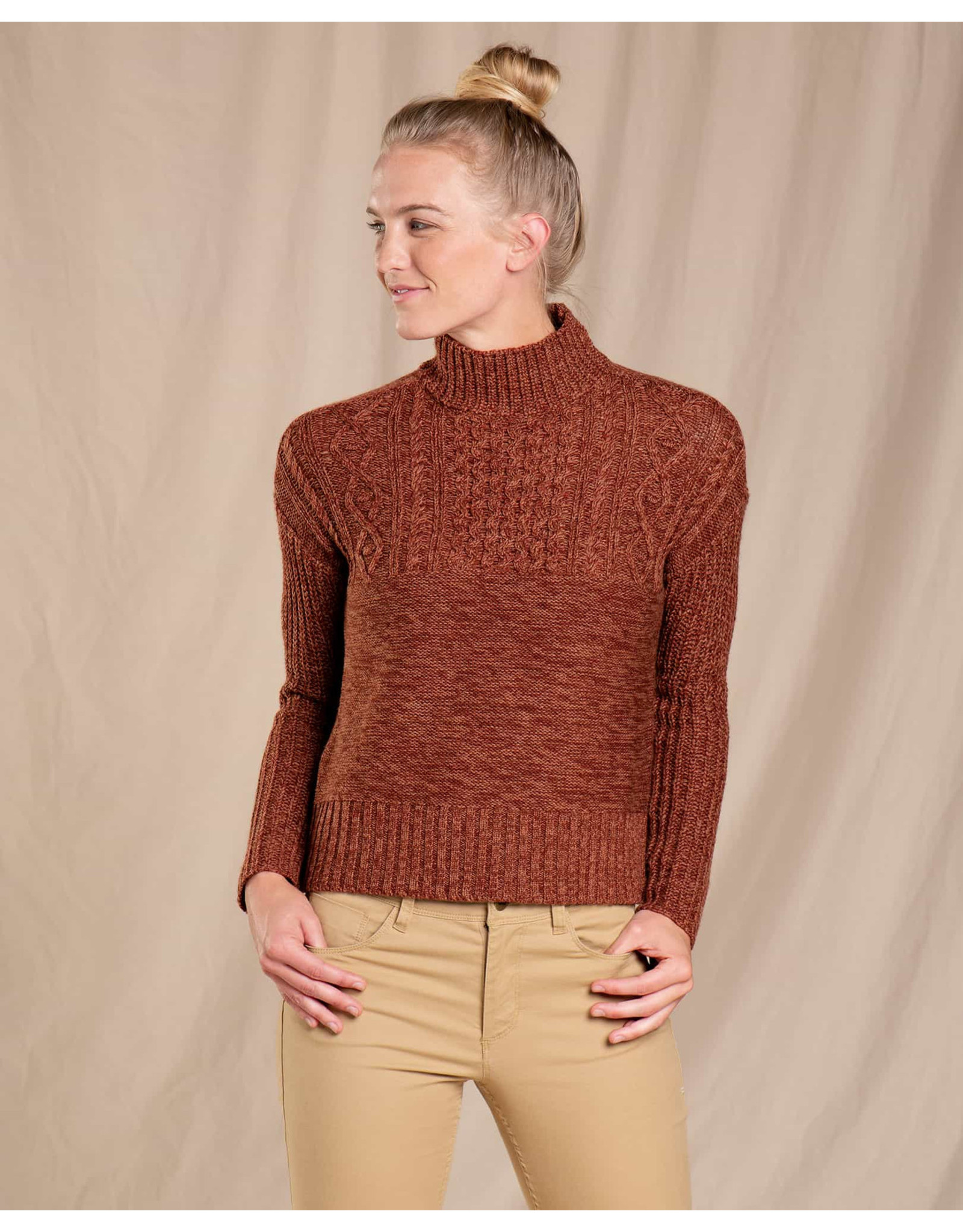 Toad&Co Tupelo Cable Sweater