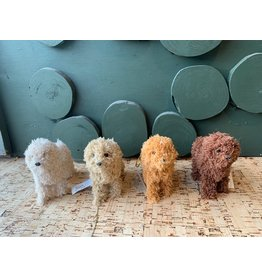 Furry Poodle Ornament, 4 styles