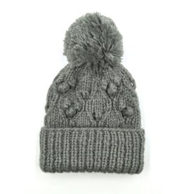 Hand Knitted Chunky Bobble Pom Hat
