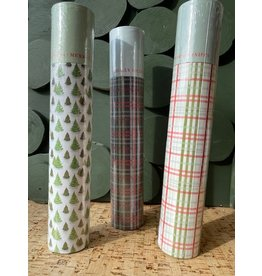 Tube Matchbox with Festive Print, 3 Styles