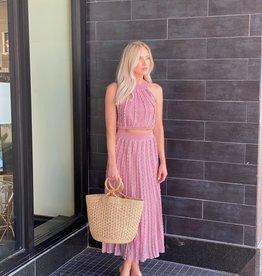 Alexis Zea Skirt Blush