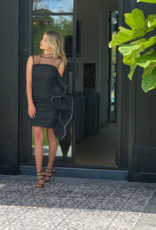 Marianna Senchina Seamaid Side Ruffle Dress