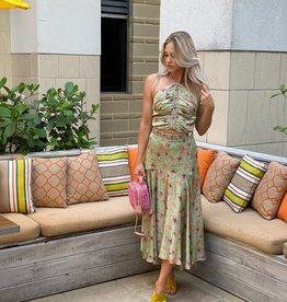 Alexis Bazli Skirt Green