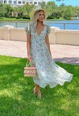 Love Shack Fancy Clemence Dress Floral Confetti