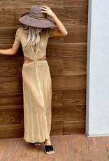 Devon Windsor Athena Dress Gold